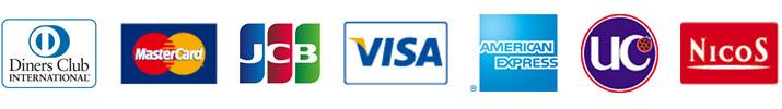 クレジットカードのご利用が可能